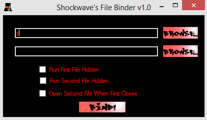 Binder : Attach Any File With Exe/Mp3/Jpg And Other,,,, - Know Ur Device